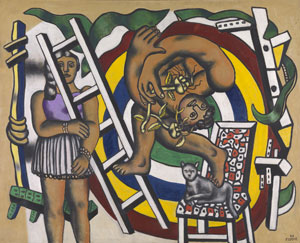 Fernand Léger The Acrobat and his Partner, 1948