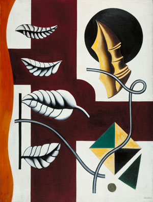 Fernand LégerLeaves and Shell (Feuilles et coquillage) 1927