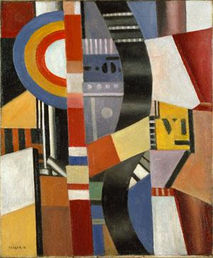 Fernand Léger The Disc (Le Disque) 1918