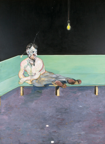 Francis Bacon, Study for Portrait of Lucian Freud (1964)