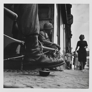 Don McCullin - Near Checkpoint Charlie, Berlin 1961