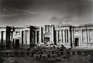 Don McCullin, The theatre on the Roman city of Palmyra, party destroyed by Islamic State fighters 2017