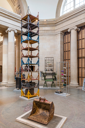 Tate Britain Commission 2019: Mike Nelson Installation view of The Asset Strippers at Tate Britain, 2019 Photo: Tate (Matt Greenwood)