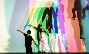 Olafur Eliasson, Your uncertain shadow (colour), 2010