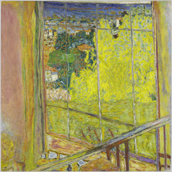 Pierre Bonnard (1867 - 1947)  The Studio with Mimosas (Atelier au mimosa)