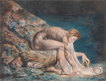 William Blake (1757-1827) Newton 1795-c. 1805